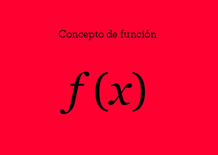 Concepto de función