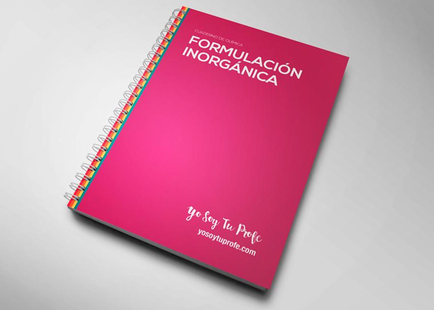 Cuadernillo de formulación inorgánica: teoría y ejerciciosresueltos