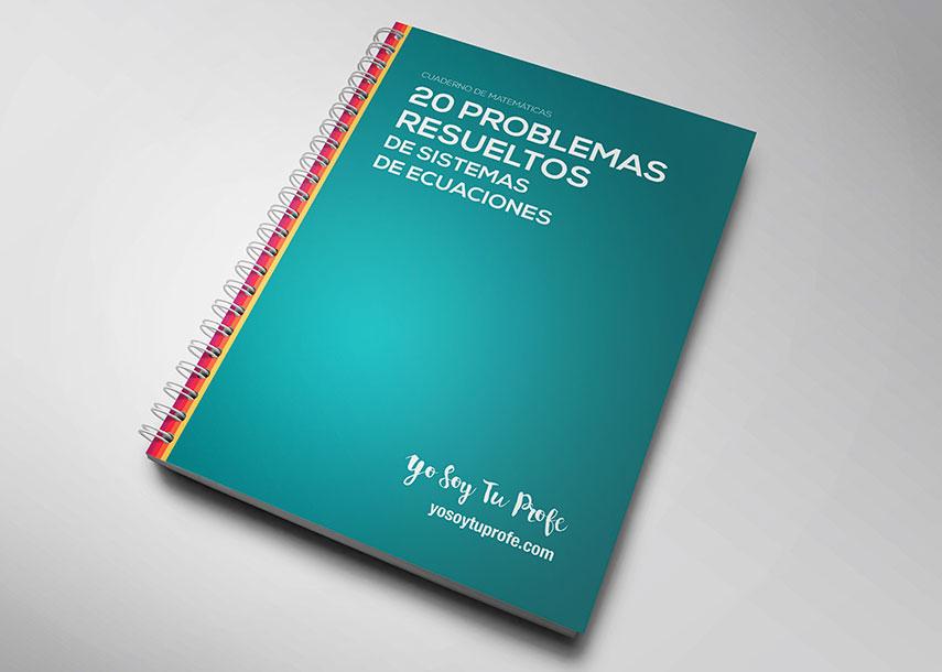 20 problemas de sistemas de ecuacionesresueltos