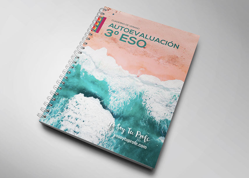 Cuaderno de verano para alumnos de3ºESO