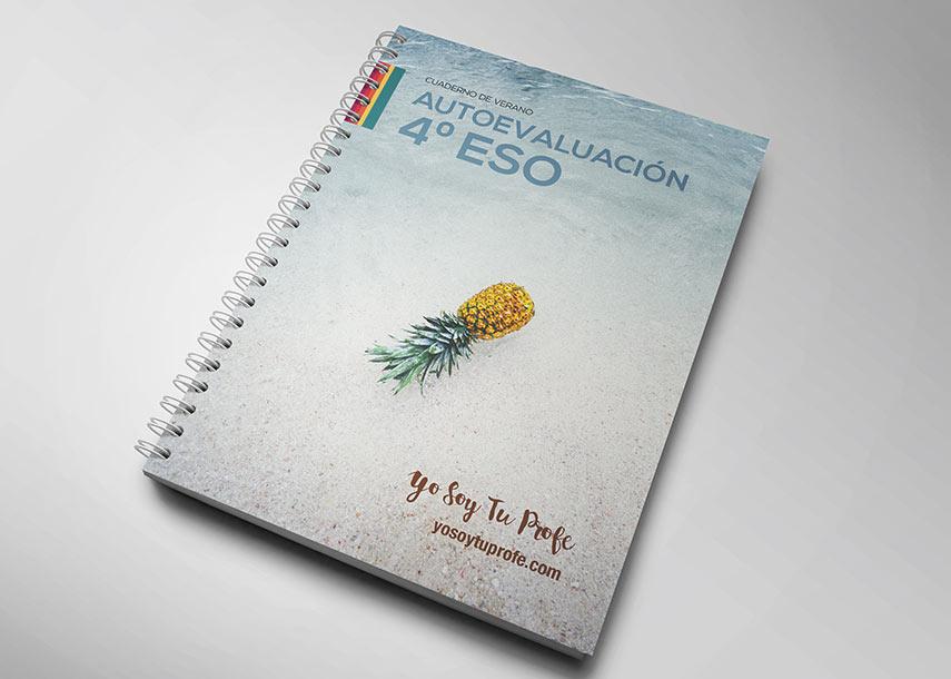 Cuaderno de verano para alumnos de4ºESO